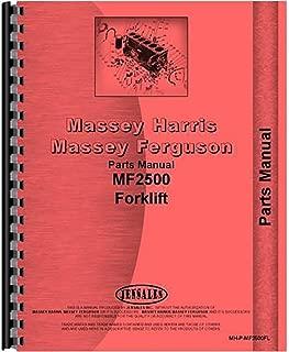 New Massey Ferguson 2500 Forklift Parts Manual