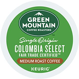 Green Mountain Coffee Colombian Fair Trade Select single serve K-Cup pods for Keurig brewers, 160 Count