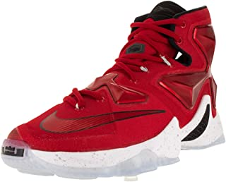 lebron 13 red and white