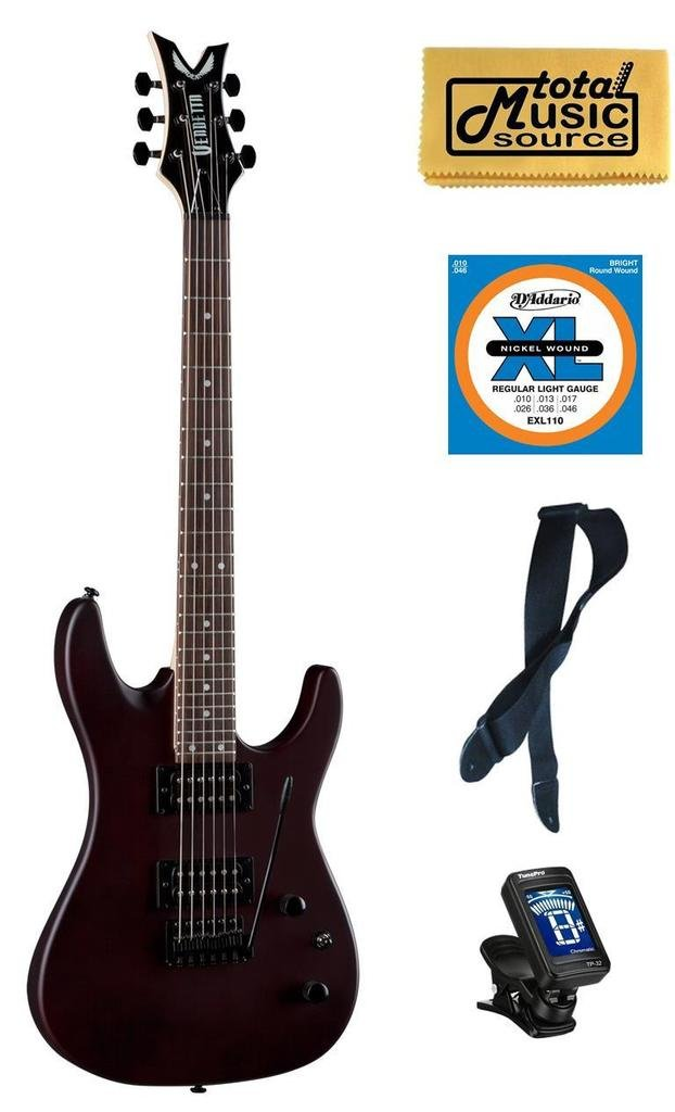 Cheap Dean Vendetta XM Tremelo Natural Electric Guitar FREE Strings Tuner Strap Cloth Black Friday & Cyber Monday 2019