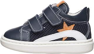 Nero Giardini E023810M Sneakers Kids da Bambino in Pelle E Tela