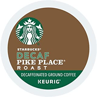 Starbucks Keurig Coffee K Cups Pods 6/16 / 24/96 Count Capsules Sleeves ALL FLAVORS SEALED Fast Shipping (24 Pods Starbucks - Decaf Pike Place Roast)