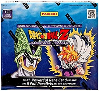 Dragonball Z DBZ Awakening Booster Box - 2016 Panini TCG Card Game