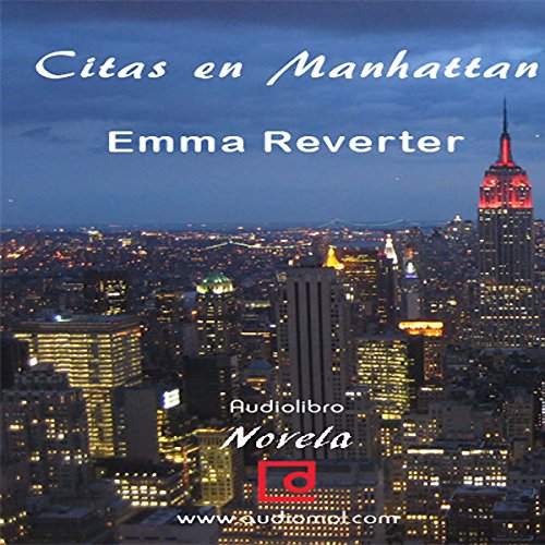 Citas en Manhattan [Dating in Manhattan] audiobook cover art