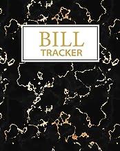 Bill Tracker: Monthly Bill Payments Planner and Organizer Notebook (Bill Tracker & Organizer).