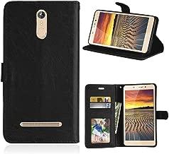 JEEXIA® Funda para Leagoo M8 Pro/Leagoo M8, Moda Business Flip Wallet Case Cover PU Cuero con Soporte Cubierta Protectora - Negro