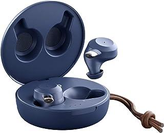 Sudio Fem True Auriculares inalámbricos – IPX 5 (a prueba de salpicaduras/lluvia/sudor), 20 horas de tiempo de reproducción, sistema de 4 micrófonos, controlador de grafeno, Android, iOS (azul clásico)