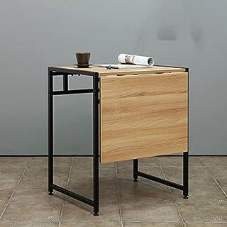 YNN TABLE Table de salle à manger unique portable pour deux Table pliante moderne et simple Table télescopique Table de sa...