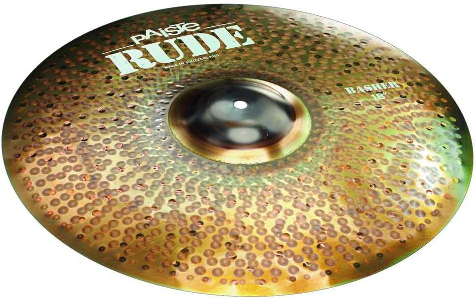 Max Ranking TOP16 67% OFF Paiste 18 Inches RUDE Crash Basher Cymbal