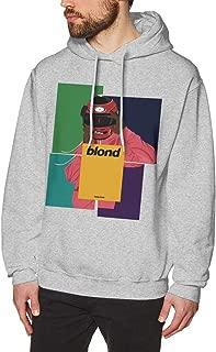 Blond Frank Ocean Mens Hoodie Sweatshirt Casual Slim Fit Long Sleeve Lightweight