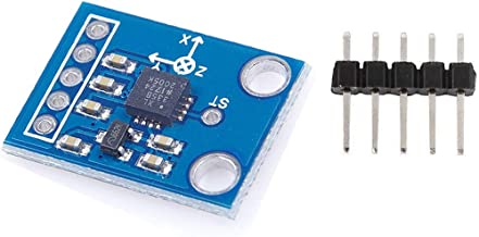 HiLetgo ADXL335 3-Axis Accelerometer Angular Transducer Sensor GY-61 Module Analog Output 3-5V