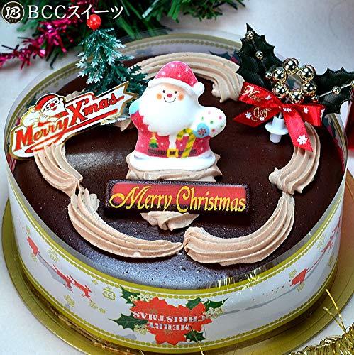 クリスマスケーキ チョコレートケーキ 5号 15cm ホール 生チョコ ザッハトルテ