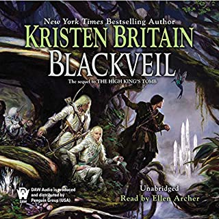Blackveil audiobook cover art