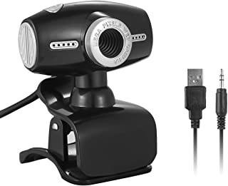 USB Web Webcam with Microphone, 8MP Web Camera Clip-on Computer PC Laptop Desktop for Video Conferencing, Calling, Live Streaming