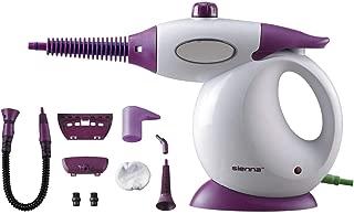 Sienna Steam Birdie Handheld Steam Cleaner | Multipurpose Portable Steamer with Hand Pump | for Kitchen, Bathroom, Stove Tops, Windows, Shower, Cars, Boats