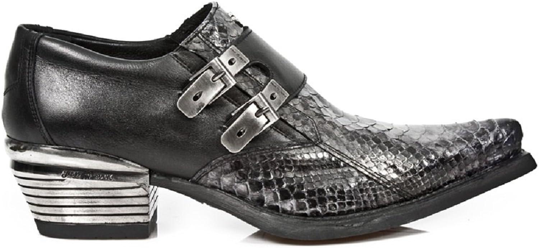 New Rock Dallas Schwarz Schuhe M.7934PT-S10