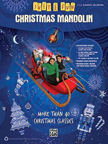 Just for Fun: Christmas Mandolin (Just for Fun (Alfred))