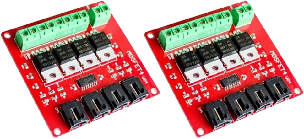 2 Pieces 4 Channel Cash special price Selling and selling MOSFET Button Switch Route Is IRF540