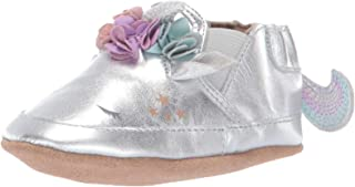 Robeez Baby Girl's Slip On Soft Soles Crib Shoe