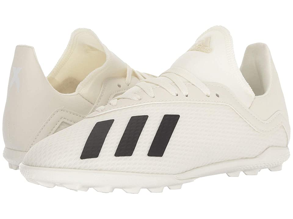 adidas Kids X Tango 18.3 TF Soccer (Little Kid/Big Kid) (Off-White/White/Black) Kids Shoes