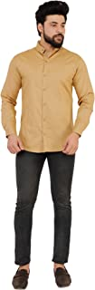 Home Tex Men's Cotton Casual Shirt for Men Full Sleeves