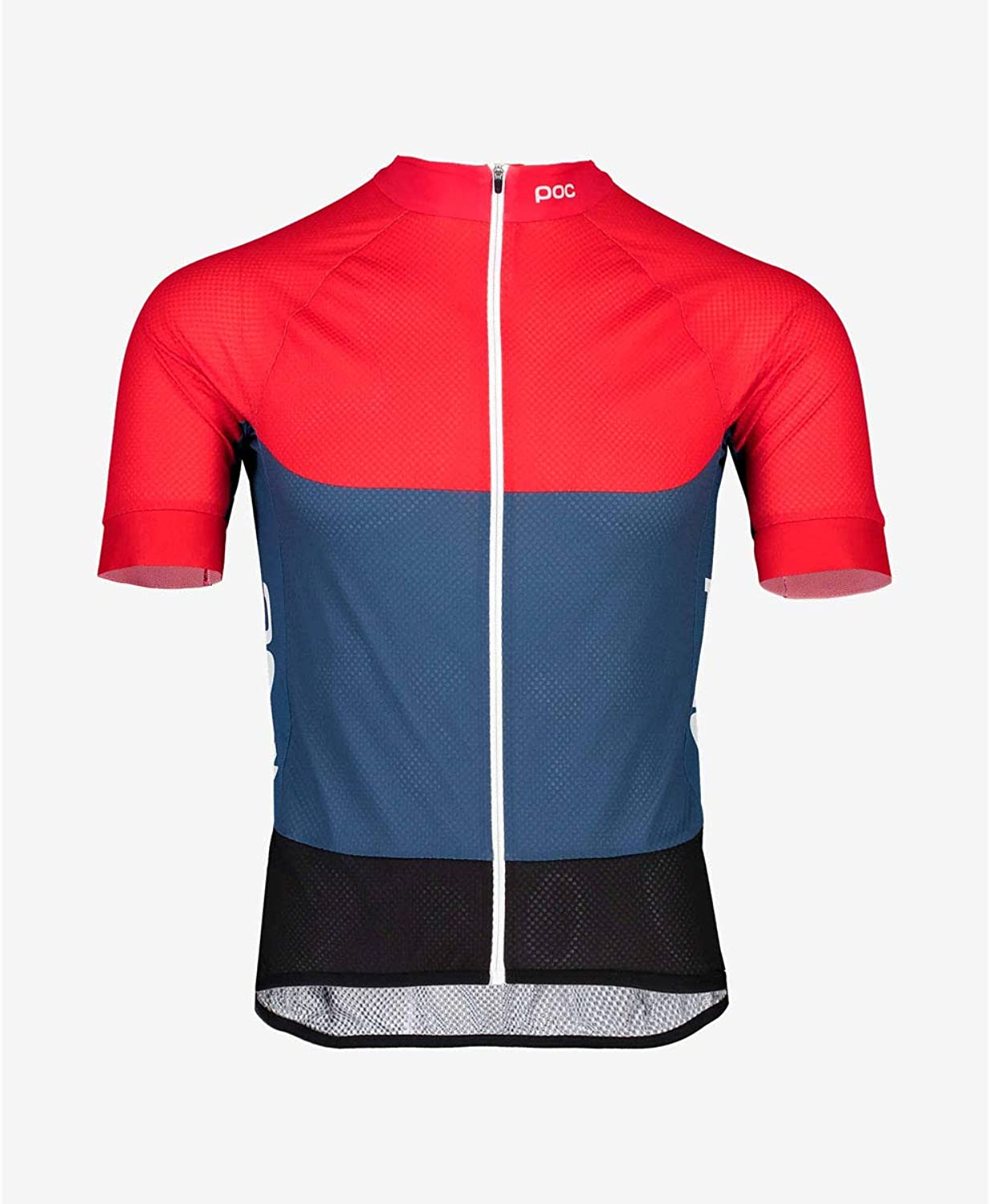 POC Essential Road Bike Jersey Shortsleeve Men red bluee 2019 Short Sleeve Cycling Jersey