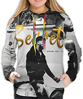 Anuel AA Karol G - Secreto Womans Fashion Sports Printing Hoodie Sweatshirt