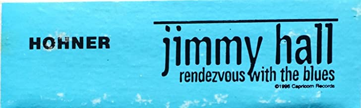 oddtoes concert posters and music memorabilia Jimmy Hall Custom Made Harmonica for Rendezvous with The Blues - Very Rare