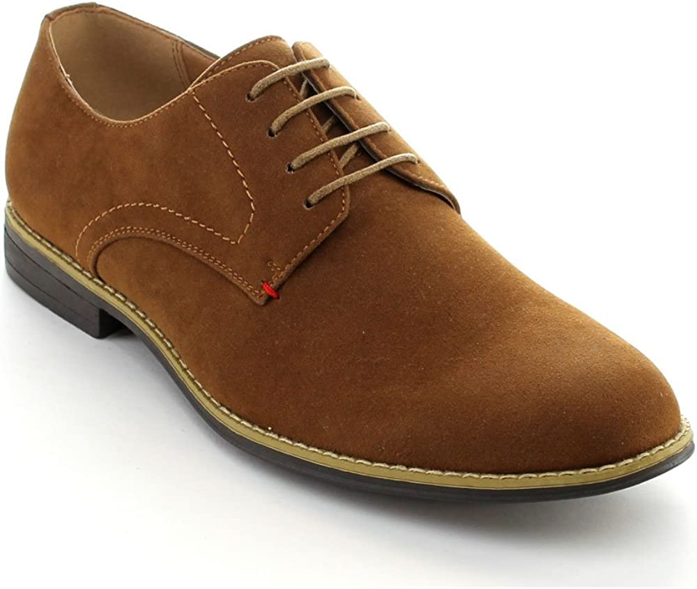 ARIDER Men's COOPER-02 Low-Top Lace Up Casual Oxford Shoes