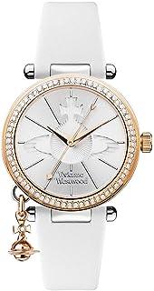【セット商品】[ヴィヴィアンウエストウッド] Vivienne Westwood VV006RSWH レディース 腕時計 &マイクロファイバークロス 13×13cm付き [並行輸入品]
