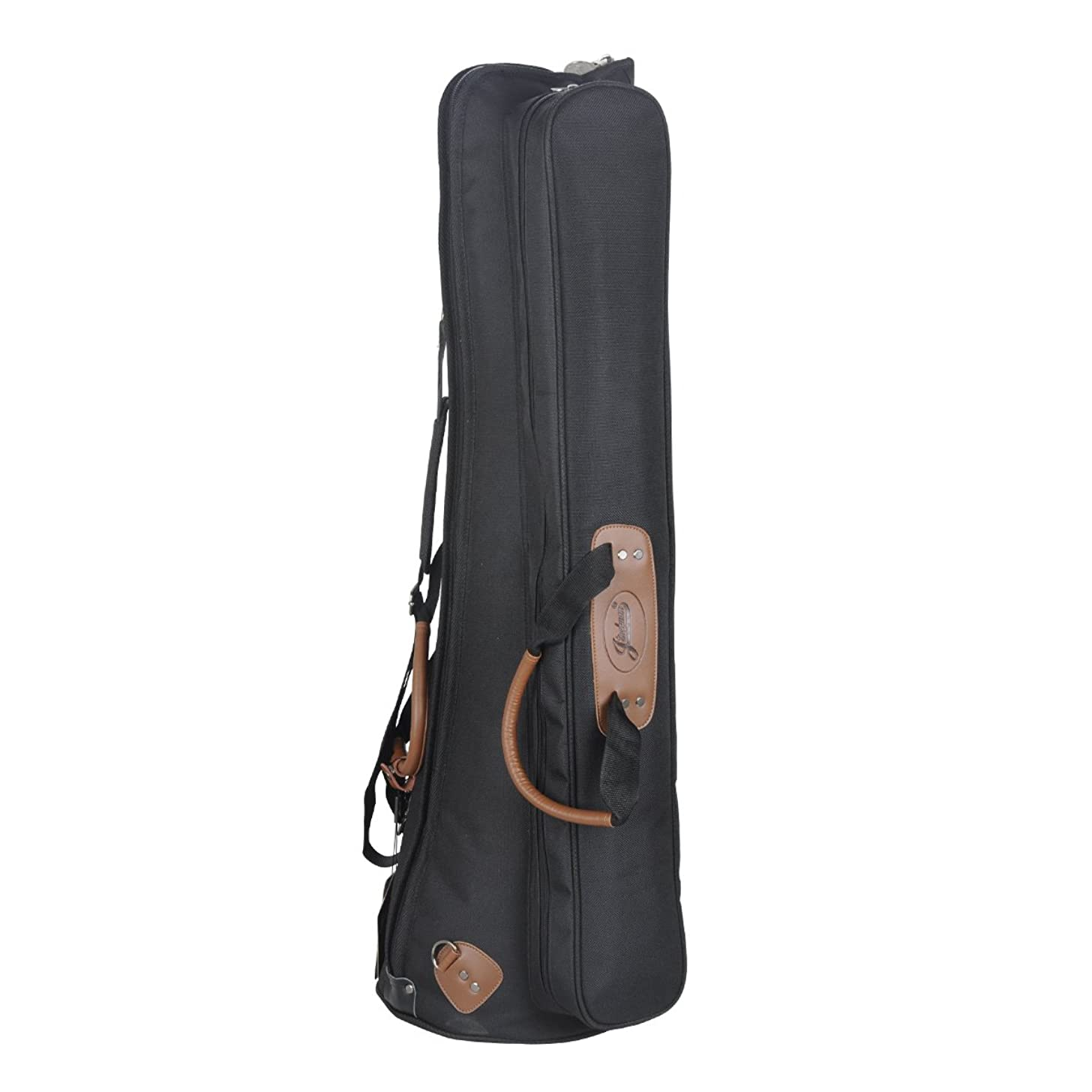 Jinchuan Deluxe Tenor Slide Trombone Gig Bag Light Weight Case Water-resistant Cloth Soft Leather Handle