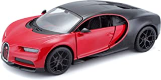Maisto Bugatti Chiron Sport 1/18 Diecast Model Car - Black/Red