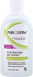 pHisoderm Anti-Blemish Gel Facial Wash-6 oz (Pack of 5)