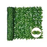 Eeneme Paneles verdes plásticos del seto de la cerca del enrejado del cribado artificial en las pantallas protectoras de la cerca del jardín de la privacidad del rollo
