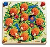 Chelona 552301 Wiese - Juego Educativo para Aprender Colores, Formas y estructuras [Importado de Alemania]