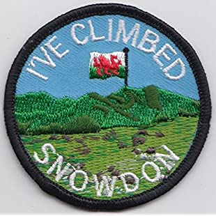 Wales I've Climbed Mount Snowdon Snowdonia National Park Embroidered Patch