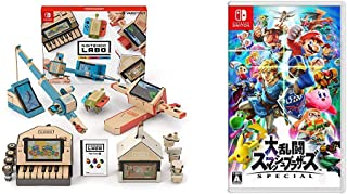 Nintendo Labo (ニンテンドー ラボ) Toy-Con 01: Variety Kit - Switch + 大乱闘スマッシュブラザーズ SPECIAL - Switch セット