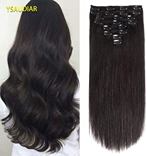Clip in Human Hair Extensions 24