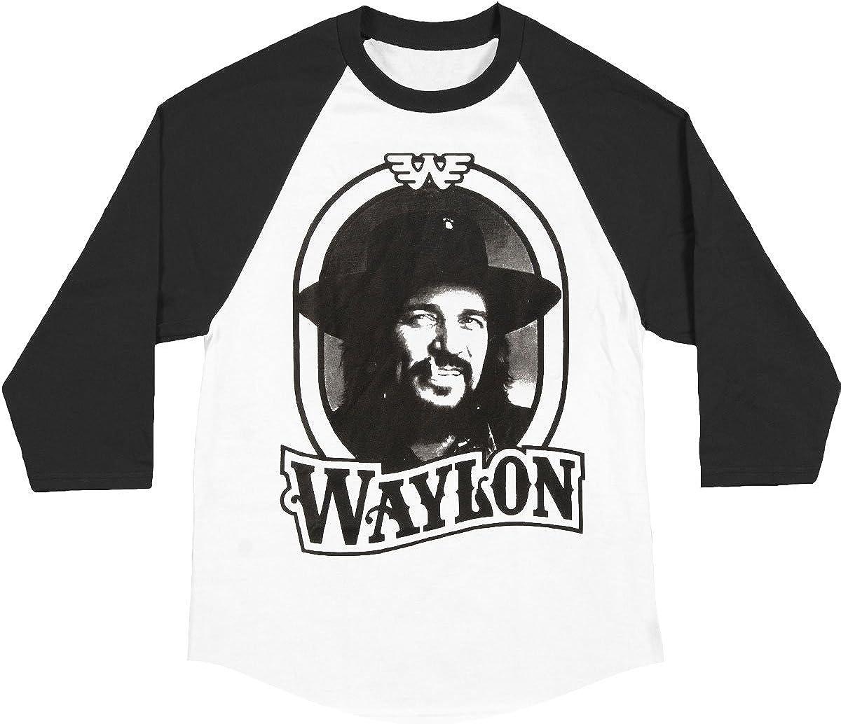 Waylon Jennings Men's Tour 79 safety Jersey shopping Raglan Baseball White