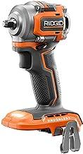 RIDGID R87207B - Llave de impacto (18 V, sin escobillas, inalámbrica, 3/8 pulgadas, solo herramienta) con clip de cinturó...
