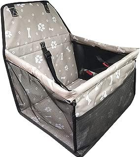 /Carcasa Booster Bolsa de transporte PET protecci/ón para viaje coj/ín asiento de coche para perro gato anima ouguan transpirable impermeable para animal dom/éstico de alfombra Auto Safety Car cintur/ón de seguridad/