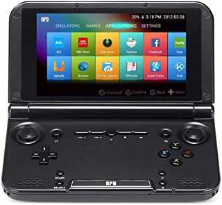 """GPD XD Plus [2019 HW Update] Matte Shell Handheld Gaming Console 5"""" Touchscreen Android 7.0 Portable Video Game Player Laptop MT8176 Hexa-core CPU,PowerVR GX6250 GPU,4GB/32GB,Support Google Store"""