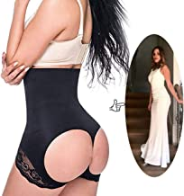 SAYFUT Women Shapewear Butt Lifter Waist Cincher Boy Short Tummy Control Panty