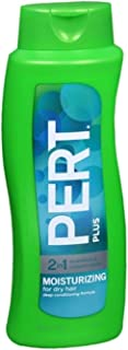 Pert Plus 2 in 1 Shampoo + Conditioner Deep Conditioning Formula 25.40 oz (Pack of 8)