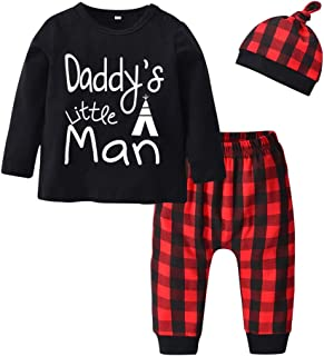 Baby Boy Clothes Long Sleeve Letter Print T-Shirt Pants...