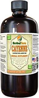 Cayenne (Capsicum Annuum) Tincture, Organic Dried Fruits Liquid Extract (Brand Name: HerbalTerra, Proudly Made in USA) 32 fl.oz (0.95 l)