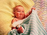 Fiber Trends Crochet Pattern CH31 Easy Crochet Baby Blankets Collection 1