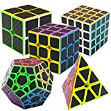 Coolzon Speed Magic Cube Ensemble Pyraminx + Megaminx + 2x2x2 + 3x3x3 + 4x4x4 5 Pack...