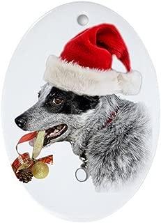 CafePress Australian Cattle Dog Xmas Oval Holiday Christmas Ornament