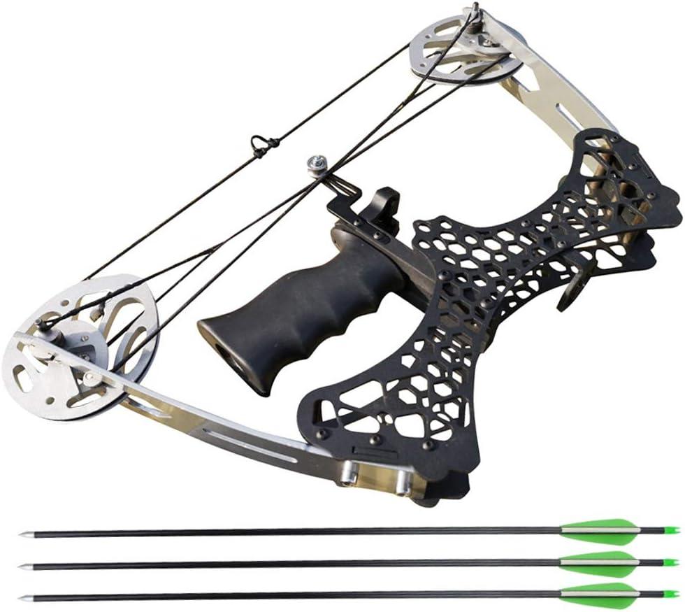 ZSHJGJR Archery Max 81% OFF Mini Compound List price Bow and Set Arrow Complete C 35lbs